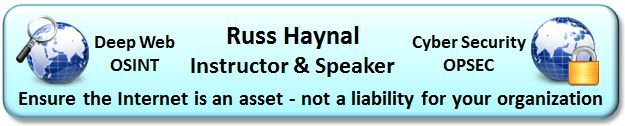 Russ Haynal -  Internet Instructor and Speaker